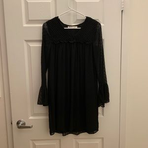 Zara dotted Swiss dress